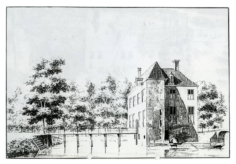 Huis Rijnestein in Jutphaas. Tekenaar onbekend
